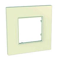 Рамка 1-пост Schneider Electric Unica Quadro Камень (mgu2.702.16)