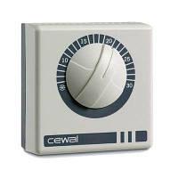 Механический комнатный термостат Cewal RQ 01