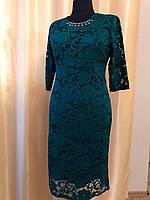 Платье женское из гипюра