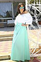 Платье фонарик в пол, фото 1