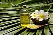 Использование растительных масел в косметике.