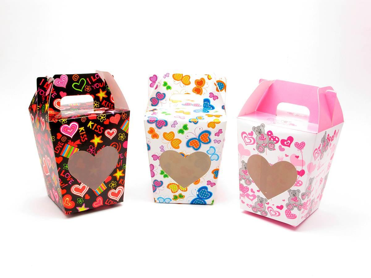 """Коробка упаковочная """"Сердце"""""""