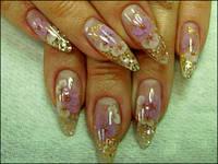 Наращивание ногтей дизайн, роспись, аквариум Сумы