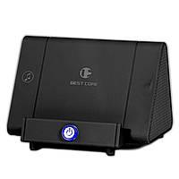 Индукционная колонка-подставка Best Core SY-317A черная беспроводная стерео мини спикер для телефонов