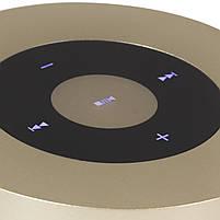 Мини-колонка BL Keling A8 золотистая беспроводная музыкальная для смартфона компьютера ноутбука AUX microSD, фото 2
