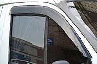 Дефлекторы окон, ветровики ГАЗ Газель, Соболь широкие Cobra