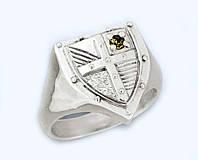 Кольцо серебряное Геральдика  к4550