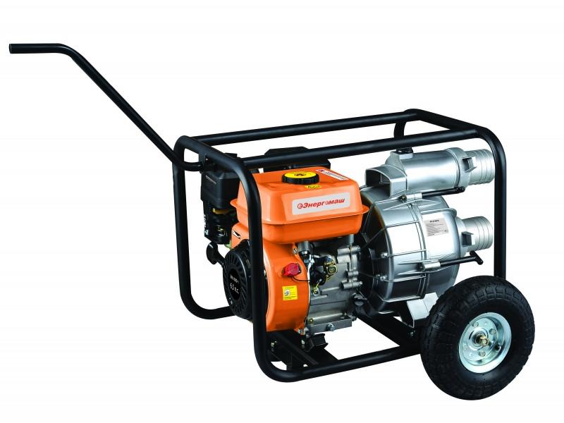 Бензиновая мотопомпа Энергомаш БП-8750ГВ, 750 л/мин