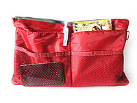 Органайзер для женской сумочки Maxi-2 Темно-красный, фото 1