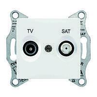 Розетка TV/SAT(ТВ/спутник) оконечная Schneider Electric Sedna Белый (SDN3401621)