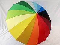 Зонт - трость радуга на 16 спиц № 5501 от Feeling Rain