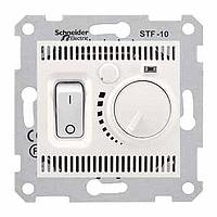 Термостат для теплого пола 10 А с датчиком Schneider Electric Sedna Слоновая Кость (sdn6000323)