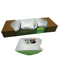 Фарфоровый набор из 3-х пиалок MR 10025-50