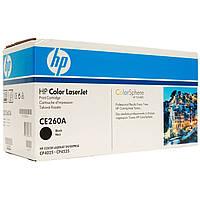 Картридж черный  HP CE260A (№647A) black для для цветных принтеров CLJ CP4025dn/4025n/4525dn/ 4525n/4525xh