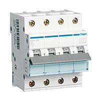 Автоматический выключатель Hager In=16А 4п С 10kA 4м (NCN416)