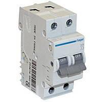 Автоматический выключатель Hager In=32 А, 2п, С, 6 kA, 2м (MC232A)