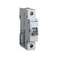 Автоматический выключатель Hager In=63 А, 1п, С, 6 kA, 1м (MC163A)