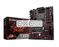 Материнская плата MSI X370_GAMING_PLUS X370 4xDDR4 HDMI-DVI M.2 USB3.1 ATX (X370 GAMING PLUS)