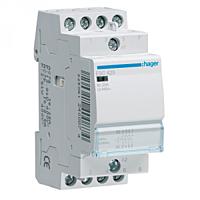 Контактор Hager 25A, 2НВ+2НЗ, 230В, 2м (ESC427)