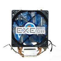 Охладитель для проц.Cooling Baby 1366/ 775/ 1150/ 1151/ 1155/ 1156/ FM1/ FM2/ AM4/ AM (R90 BLUE LED)