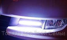 Дневные ходовые огни 17см- DRL COB белые - ПАРА, фото 3