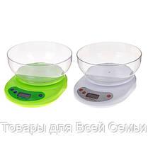 Кухонные весы с чашей ACS KE1 до 5kg, фото 3