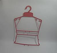 Детская рамка вешалка 25,5см розовая