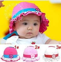 Шляпа панамка для девочки на возраст от 6 мес до 3х лет Розовая