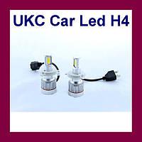 Led лампы для автомобиля UKC Car Led H4 c цоколем 33W 4500-5000K 3000LM CAR LED headlight!Акция