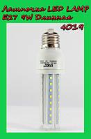 Лампочка LED LAMP E27 9W Длинная 4019, фото 1