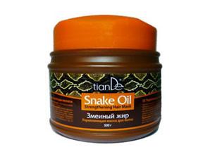 Укрепляющая маска для волос «Змеиный жир», 500 г
