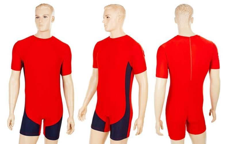 Трико для тяжелой атлетики (лайкра, р-р S-4XL) Красный, M - ADX.IN.UA в Одессе