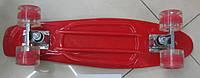Скейт SC17024 металлические крепления, колёса PU свет., 56x15 см KK