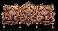 """Новый комплект мягкой мебели из Италии.Барокко Рококо """"Real"""". Цена указанна в описании."""