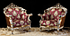 """Новый комплект мягкой мебели из Италии.Барокко Рококо"""" Principe"""". Цена указанна в описании., фото 2"""