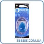 Ароматизатор Игрушка Zollex Air freshener Diamond Icy Black Бриллиант синий