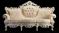 """Новый комплект мягкой мебели из Италии.Барокко Рококо """"Maria"""". Цена указанна в описании."""