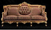 """Новый комплект мягкой мебели из Италии.Барокко Рококо """"Marco Polo"""". Цена указанна в описании."""