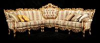 """Новый угловой комплект мягкой мебели из Италии.Барокко Рококо """"Lisanna"""". Цена указанна в описании."""