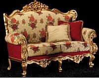 """Новый комплект мягкой мебели из Италии.Барокко Рококо """" Giulia"""". Цена указанна в описании."""