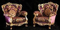 """Новый комплект мягкой мебели из Италии.Барокко Рококо """" Alba"""". Цена указанна в описании."""