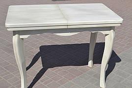 Стол роздвижной из натурального дерева