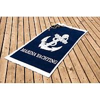 Полотенце Lotus пляжное - Yachting 75*150 велюр
