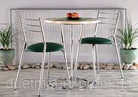 Кухонный стол PINACOLADA chrome ДСП D=60*3,6