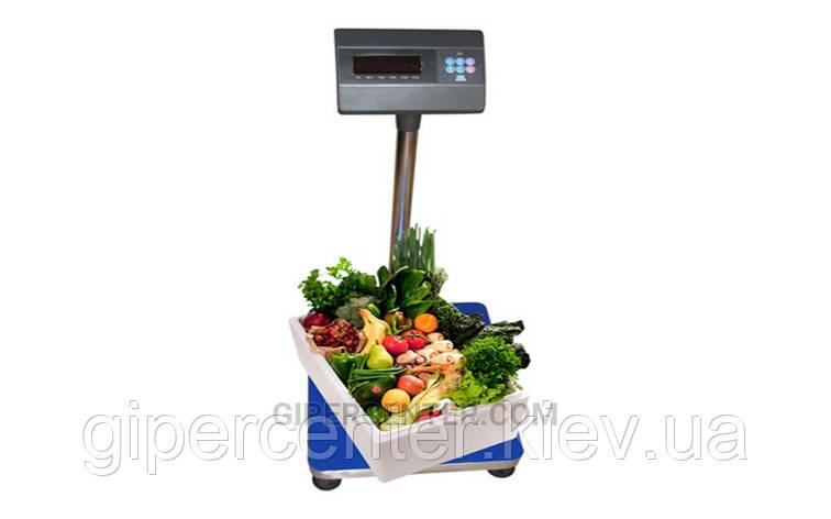 Товарные весы ЗЕВС™ 400х500 до 30 кг (А12L), фото 2