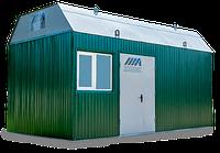 Транспортабельная котельная установка мощностью 300 квт