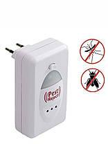 Ультразвуковой электромагнитный отпугиватель насекомых и грызунов Pest Reject, фото 3
