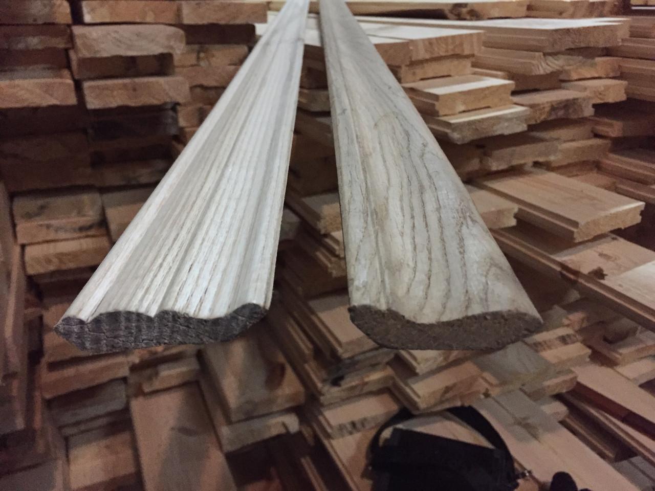 Плинтус деревянный (сосна,дуб,ясень,ольха,липа)