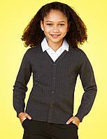Школьный кардиган серыйнадевочку 7-8-9-10 лет Marks&Spencer (Aнглия), фото 1