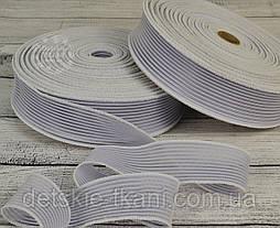 Резинка жилковая, белая, ширина 40 мм.